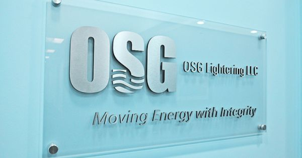 Clear Acrylic Sign With Brushed Aluminum Letters For Osg Lightering Llc Acrylic Sign Lobby Sign Clear Acrylic