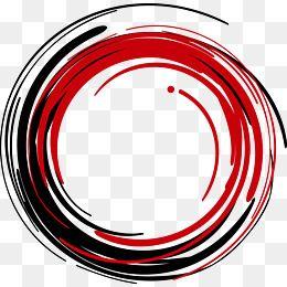 Vector Red Circle Ink Png And Vector Circle Logo Design Red Circle Logo Flower Graphic Design