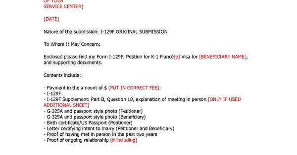 Visa Cover Lettervisa Application Letter Application