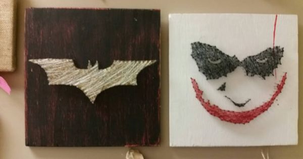 Joker String Art, DC comics, Villians and Superheroes ...