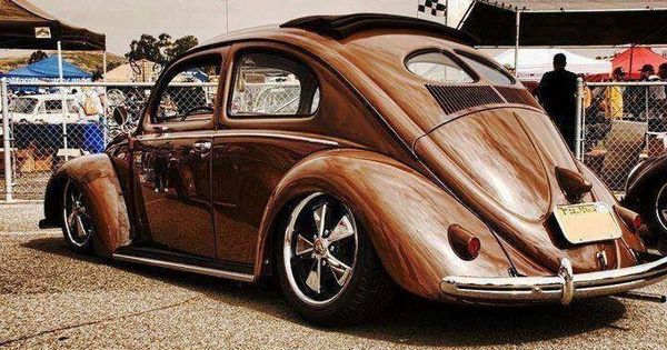 Split Window Vw Bug With A Slider Sunroof And On Porsche