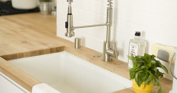 Seattle Home Gets a Parisian-Inspired Kitchen Remodel Kitchen sink ...