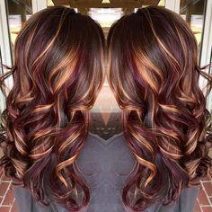 Gorgeous And Rich Burgundy Hair Color Ideas Hair Styles Brown