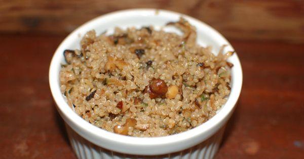 Quinoa and Veggies on Pinterest