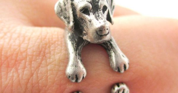 Lucky The Labrador In 2019 Animal Rings Jewelry Rings