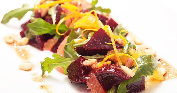 Beets, Salads and Vinaigrette on Pinterest