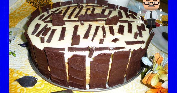 Cocina con paco tarta mousse de dulce de leche recetas - Cocina con paco ...