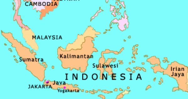 List Of İslands Similiar Map Southeast