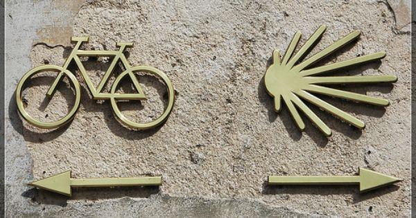 Senalamiento Tambien Para Bicicletas 200 Km Camino De