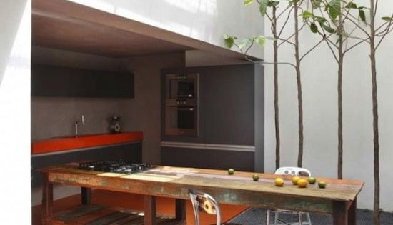 Outdoor Kitchen - São Paulo, Brazil, by Studio Guilherme Torres