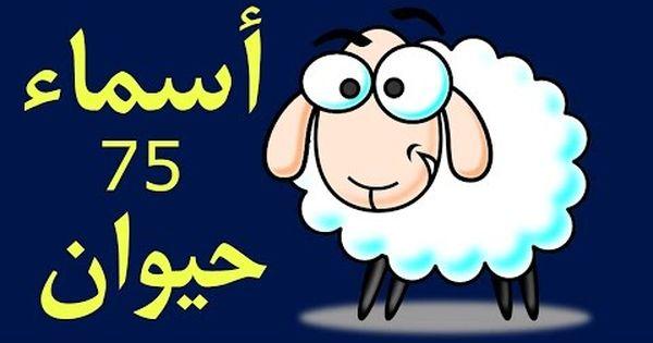 Learning Arabic Kids 75 Animals تعليم اللغة العربية للأطفال الحيوانات 75 حيوان Youtube Learning Arabic Arabic Kids Arabic Language