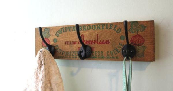 Cheese Box Repurposed Hanging storage by bluebirdheaven on ...