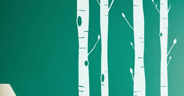 4-PIECE ASPEN TREE WALL DECAL SET $43.95 on Joss & Main -