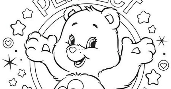 Pin By Lisa Jo On Suns Moons Stars And Friends Bear Coloring Pages Coloring Pages Care Bears