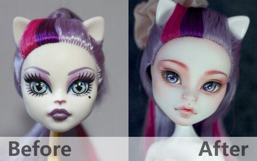 179 Mh Callie Ba By Mango Via Flickr Auction On Ebay Ebay Id Quantum07go Www Ebay Com Itm M Monster High Repaint Custom Monster High Dolls Monster High Dolls