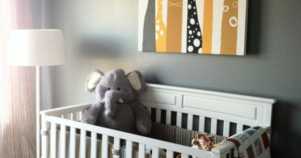 Cute giraffe nursery!!! TONS of nursery ideas, great website