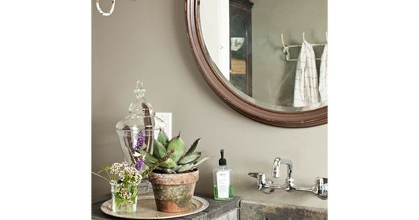 Bathroom decorating and design ideas country bathroom for Country living bathroom accessories