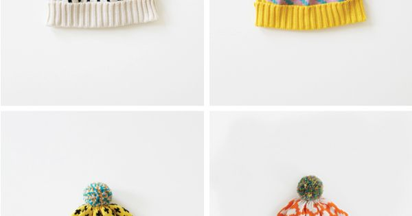 KNIT INSPIRATION // annie larson bobble hats for winter