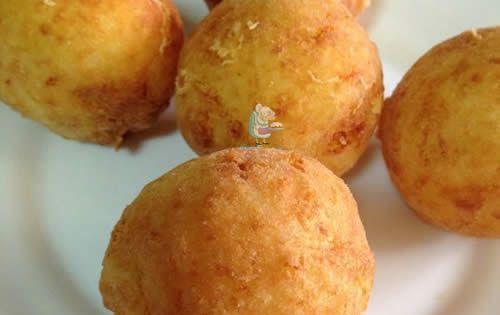 Receta de alb ndigas de patata rellenas de queso receta - Albondigas de patata ...