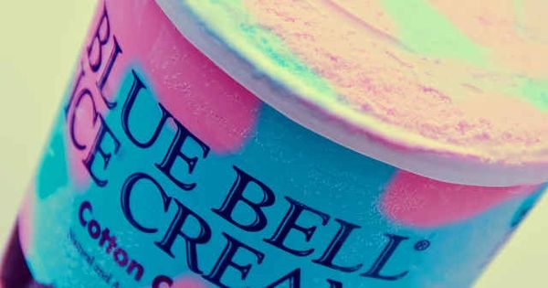 Blue Bell Cotton Candy Ice Cream I Love Thee Blue Bell Ice Cream Cotton Candy Flavoring Ice Cream Candy