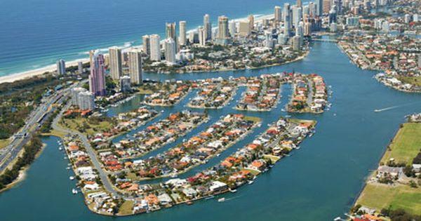 Gold Coast Australia Floating City Gold Coast City