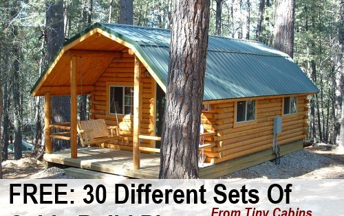 Check Out This Roundup It Is Absolutely Awesome But Not For The Faint Of Heart I Stumbled Across These Cabin Plans F Diy Cabin Small Cabin Plans Cabin Design