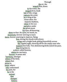 Concrete Poem Fun Poetry Shape Poems