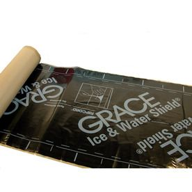 Grace Construction Products 36 In X 75 Ft 200 Sq Ft Rubber Roof Underlayment Roll Roofing Underlayment Roofing