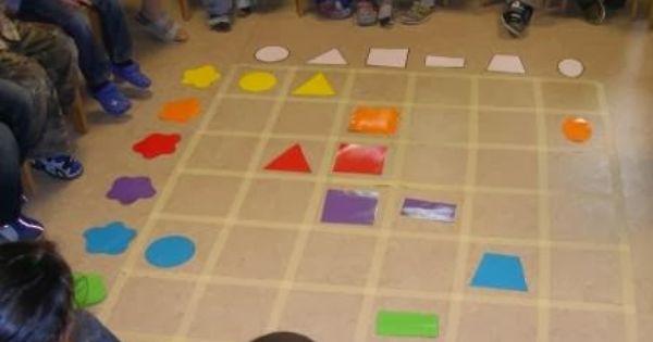 Mamamisas welt farben und formen am raster zuordnen for Raumgestaltung lernwerkstatt