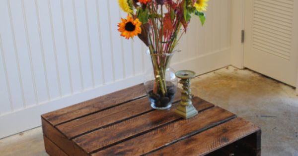 Top 10 Wood Pallet Projects for your House : Wood Pallet Table