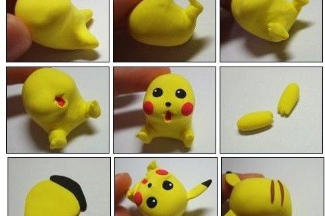 Polymer Clay Pokemon Tutorial Google Search Clay Pinterest Polymer Clay Polymers And