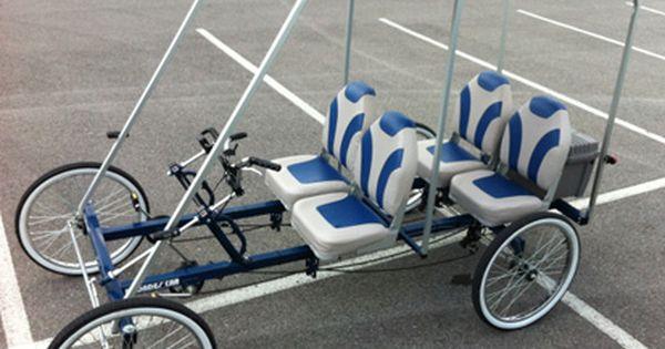 Rhodes Car Solar Powered Electric Bicycle Car Solar Car Quadracycle Pedal Cars
