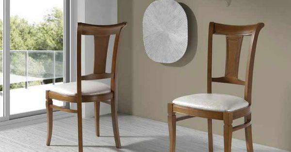 Modelos de sillas para comedor tapizadas buscar con google sillas de madera pinterest for Modelos de comedores de madera