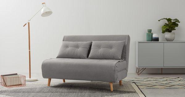Haru Kleines Schlafsofa Marshmallowgrau Small Sofa Sofa Bed Design Sofa Bed