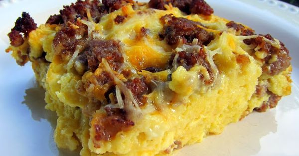 Maple Sausage and Waffle Casserole | Waffles, Sausages and Casseroles