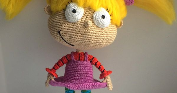 Amigurumi World Download : Angelica Pickles By Rugrats, PDF CROCHET PATTERN, Instant ...