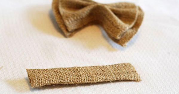 No Sew DIY Clip on Bow Ties - could make regular ties