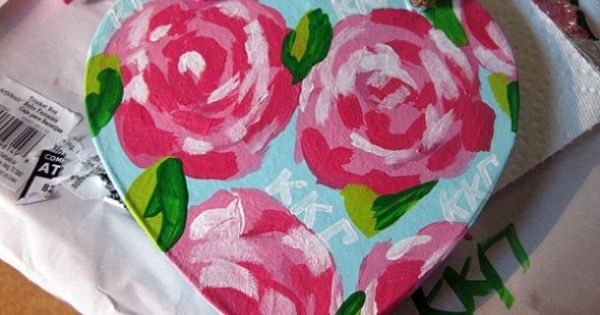 Painting Lilly print