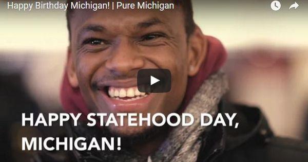 michigan statehood day