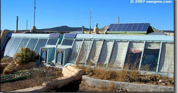The Earthship Eco Self Sufficient Design Principles Center Around