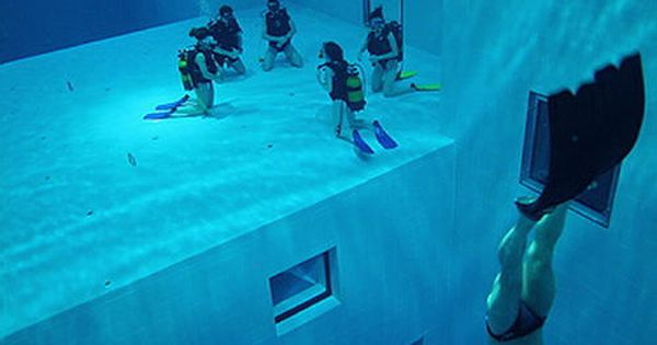 Nemo 33 Is The Deepest Indoor Swimming Pool In The World The Pool Is Located In Brussels