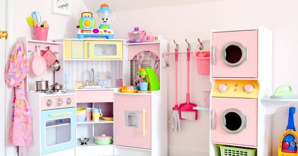 Girls dream playroom makeover part 2 storage room toy for Dream room maker