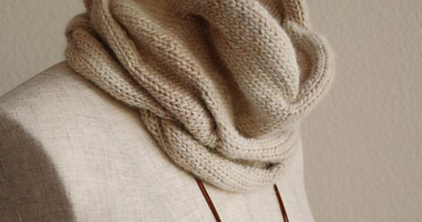 Knitting Pattern Burberry Scarf : Very nice. Burberry Inspired Cowl Neck Scarf Knitting Pinterest Ravelry...