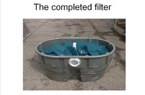 Diy pond filter skippy design video and links garden for Koi filter design