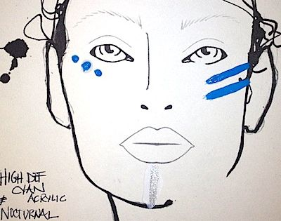 Makeup Trends 2013, 2014: 12 Best Music Festival-Inspired Beauty Looks: Bold, Colorful