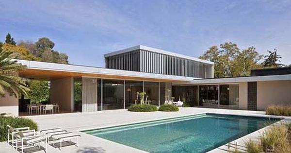 Modern L Shaped House Plan In Mexico A New Concept Of