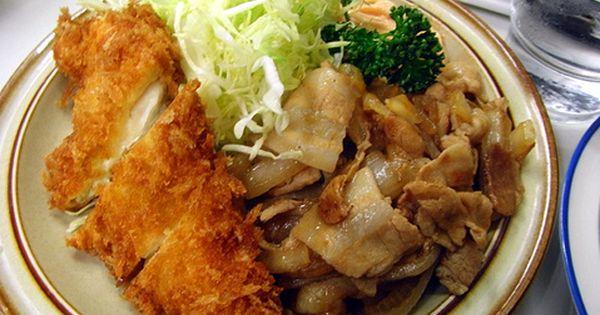 キッチン南海 ひらめフライしょうが焼きライス Sumally レシピ