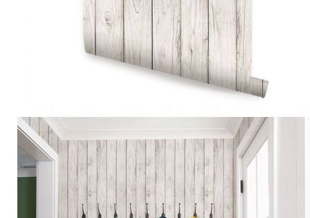 Wood White Peel And Stick Wallpaper Wall Sticker Outlet