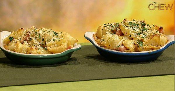 Michael Symon's Ham and Cauliflower Mac N cheese