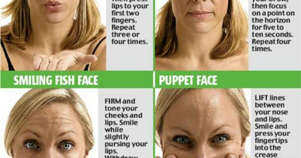 10 Yoga Exercises For Slimming Your Face. Don't forget to workout your
